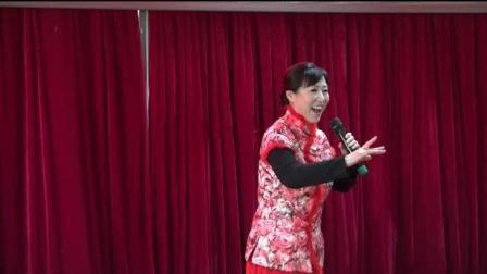 张铁花在平谷新年联欢会上演唱