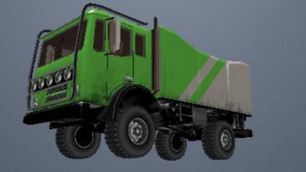 货运大卡车工作视频 挖掘机与大卡车表演动画大全 汽车总动员载货卡车