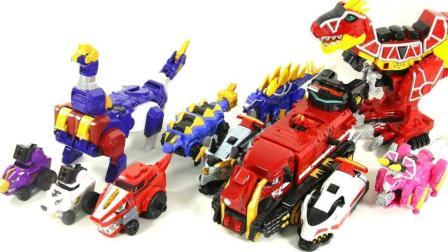 恐龙战士 超能战士兽电龙飞驰棘龙 强龙神变形金刚玩具 兽电战队强龙者 ★ 垣垣玩具 ★