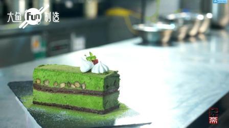 【甜点】抹茶慕斯蛋糕
