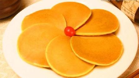 早餐教你做奶香玉米饼, 不用放一滴油, 小孩子最爱吃!