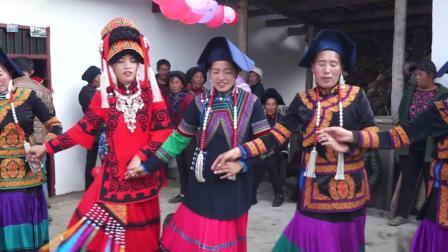 彝人视角彝族结婚别样风情意蕴的彝族人舞蹈音乐听着很特别