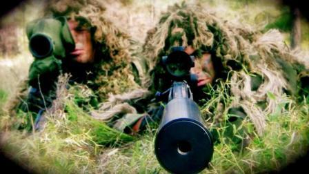 穿吉利服狙击手有多恐怖? 救下了重伤战友依然逃不过一枪爆头!