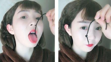 有才的网友: 美女口吞汉堡舌头打绳结, 试问哪个男生不想找个这样的小姐姐?