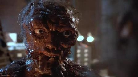 美国科幻恐怖片《变蝇人》, 男子不小心与苍蝇基因结合, 变成蝇人!