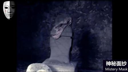 实拍日本灵异事件 深山墓地里拍摄到真实鬼魂
