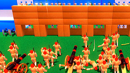 【小熙解说】木偶人战争模拟器 一场攻防大战怎样用一个逗比狙击手取胜!