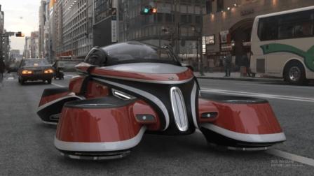 世界首辆, 电动飞行汽车, 时速500公里, 可垂直起降, 20万你买么