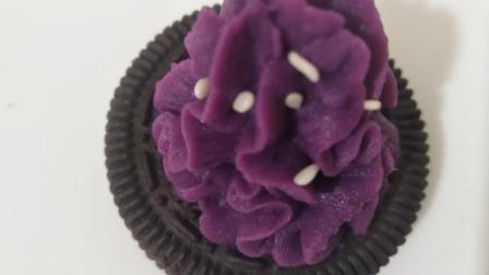 宝宝最喜欢的甜点 一打不够宝宝吃的 简单易学 锡盏紫薯塔