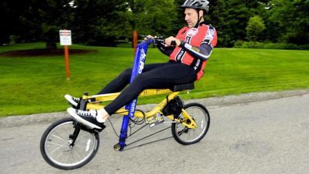 新型自行车上市! 赶紧来看看, 不然压根儿不会骑!