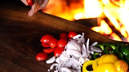 森林木屋史诗豆香肠美食