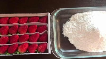 草莓大福做法, 2分钟包你学会