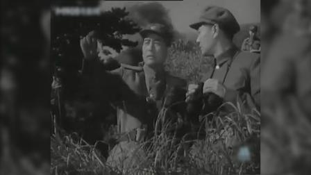 电影《三八线上》,美国发动侵朝战争画面