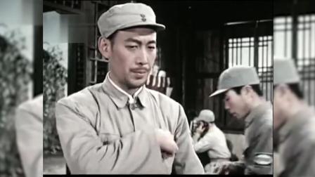 电影《东进序曲》中,我军出奇兵敌人的后方,使敌人遭到惨败