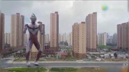 搞笑视频: 广场舞威力有多大, 连奥特曼都情不自