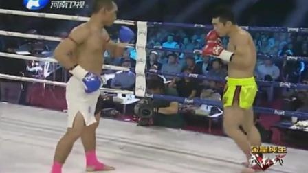 泰拳王嚣张放话ko每一个中国勇士, 结果上场被打得不省人事!
