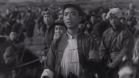 《红河激浪》,张铁娃追击姚德元,其后失足坠崖