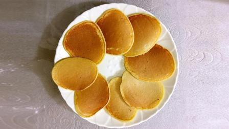 1分钟学香蕉牛奶鸡蛋饼, 0失败, 关键一滴油都不用放! 营养又美味