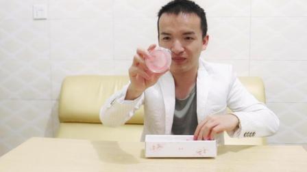 试吃网红'樱花果冻', 颜值超高, 特别适合女孩子吃