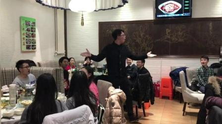 中国人民大学校内餐厅, 学生深情合唱《我爱你中国》