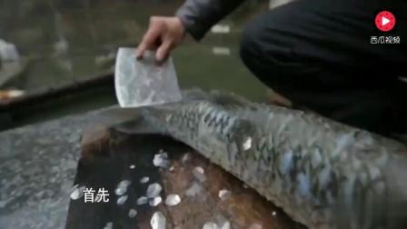 舌尖上的中国: 紫鹊界冻鱼, 真正的大山味道!