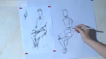 素描学习漫画人物速写教程图片大全, 线条速写教程视频, 素描教程正方形学习油画