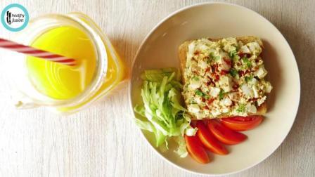 在家就难做的, 鸡蛋沙拉三明治
