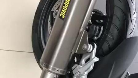 最便宜的宝马摩托车BMW G310R改装天蝎排气后声浪无敌