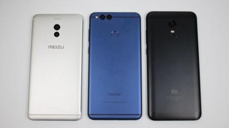 千元机大乱斗 红米5Plus、荣耀7X、魅蓝Note6对比评测