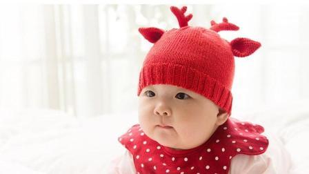 【金贝贝手工坊162辑】M28萌鹿小帽毛线棒针钩针儿童帽宝宝帽毛线编织教程钩法