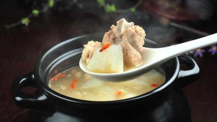2分钟教你冬瓜排骨汤最营养的做法, 汤汁鲜美, 全家人都抢着喝!
