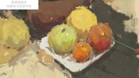 风景油画教程简易中国画教程, 儿童小猫国画教程, 素描入门临摹范画学习油画