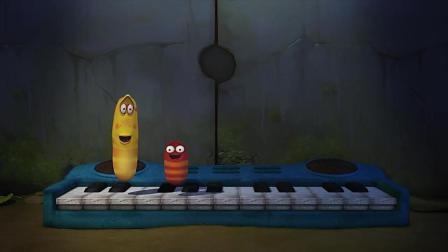 爆笑虫子: 两条虫子还懂音乐, 我就好奇了, 你们