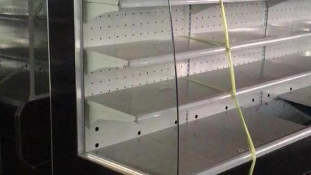 山东元孚风幕柜超市风冷展示柜冷藏柜商用立式饮料蔬菜柜水果保鲜柜