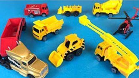 遥控玩具汽车挖掘机大卡车表演视频 挖掘机视频表演 挖土机视频表演大全