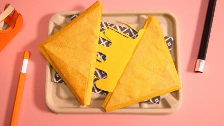 趣味定格动画-纸做的三明治