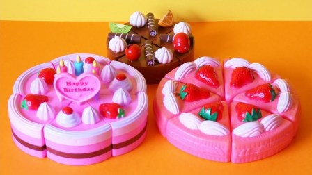 玩具 切割 蛋糕 Toy cutting cakes