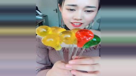 灯泡糖, 彩色的好漂亮, 好吃极了