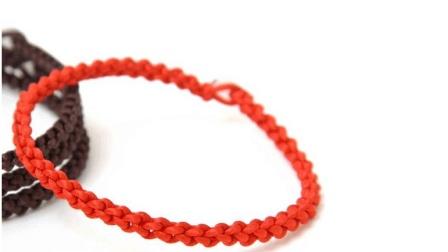 手工编绳, 3分钟教你编织简单好看的锁结手链