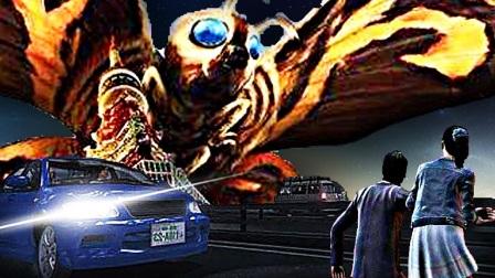 【屌德斯解说】 巨影都市 奥特曼离开后魔斯拉上演怪兽大乱斗!