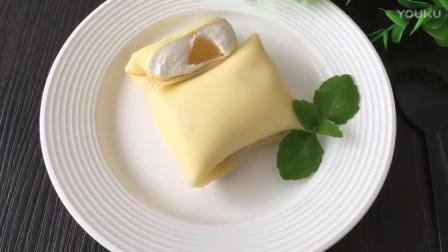 最简单的烘焙蛋糕做法视频教程 黄桃班戟的制作方法nh0 烘焙彩虹棒棒糖做法视频教程
