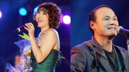 张蔷《什锦菜》, 张行架子鼓伴奏, 八十年代两大偶像, 最珍贵的聚首!