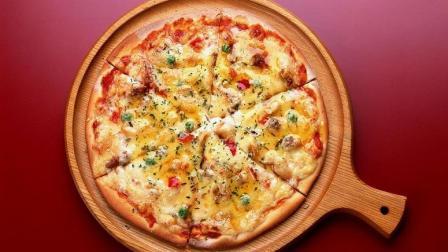 鸡蛋馒头版披萨, 一分钟学会! 做给宝宝吃, 健康又美味。