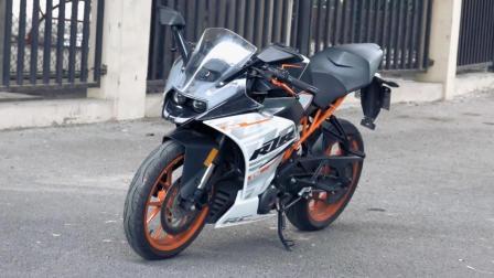 「呆子测评」妥协的激进份子 KTM RC390, 骑士网摩托车测评
