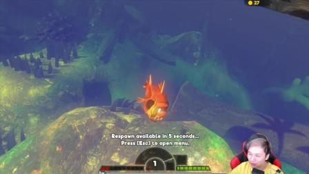 海底大猎杀Fish feed& grow-籽岷的新游戏直播体验 第十二集视频