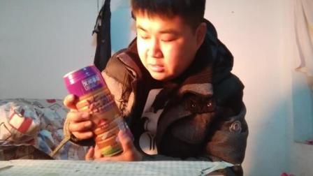 试喝无淀粉生榨紫薯汁, 紫薯汁不应该是紫色的吗