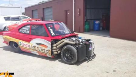 布加迪汽车发动机都不敢这么改, 四个涡轮增压, 大家都膜拜它