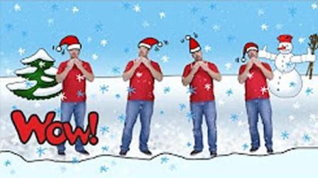 幼儿早教英语: 圣诞布丁歌Christmas Pudding Song-儿童故事剧场|英语启蒙|傲仔小天地
