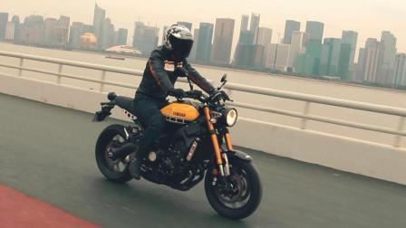「呆子测评」毛有劲的性能复古车雅马哈XSR900, 骑士网摩托车测评