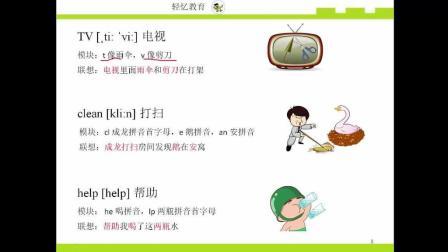 国内少儿英语培训机构记忆单词方法英语单词卡片